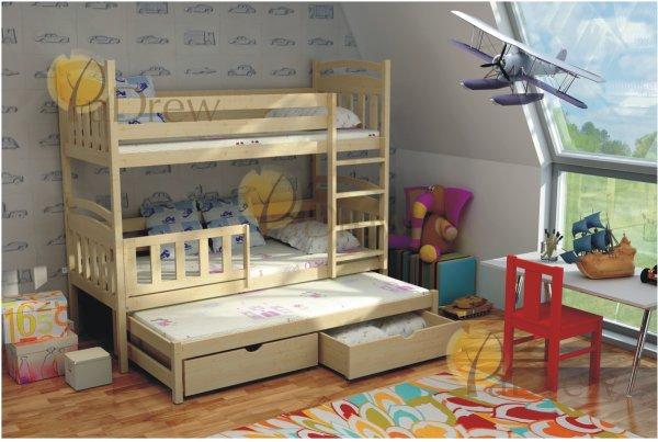 Patrová postel Vládík 180x80 cm + rošty zdarma