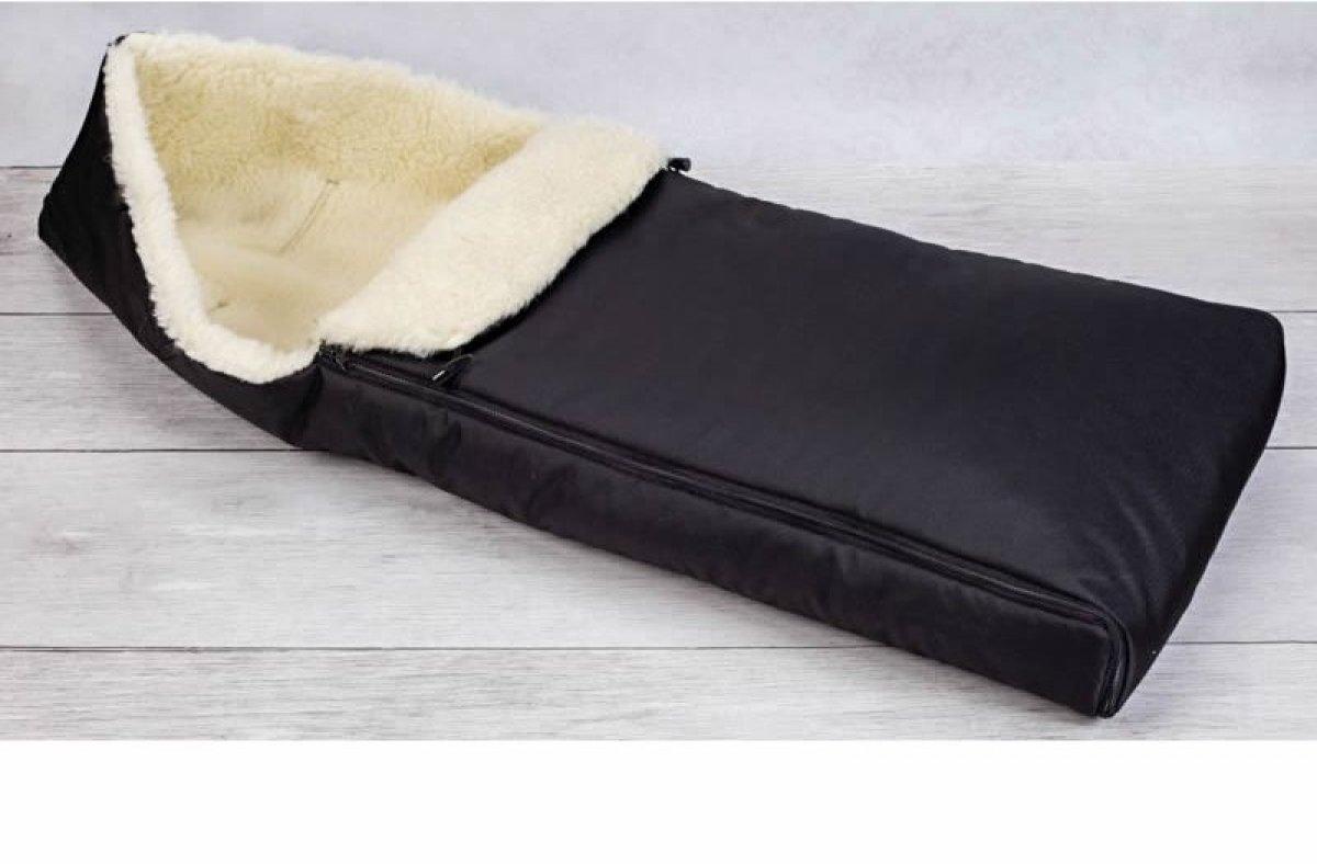 Dětský fusak zimní - 110 cm černý