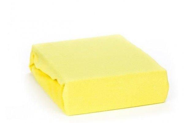 Prostěradlo froté nepropustné PVC 120/60 žluté