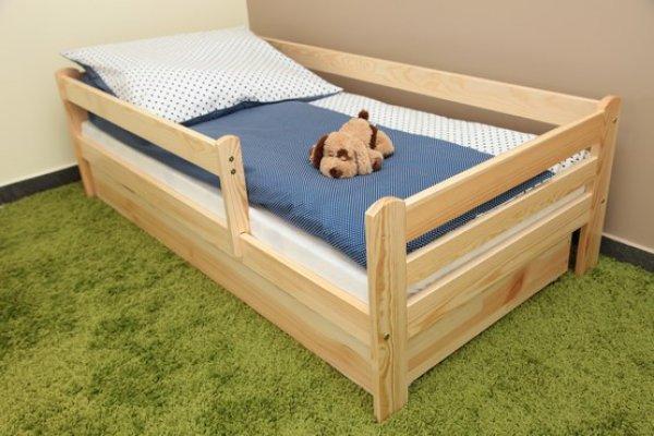 Dětská postel 180x80 cm Vráťa + šuplík + matrace