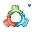 Canpol babies Chladící kousátko tříbarevné se třemi výstupky