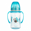 Canpol babies Tréninkový hrníček EXOTIC ANIMALS 240ml modrý