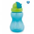 Canpol babies Láhev sportovní se slámkou malá 270 ml modrá