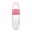 Canpol babies Silikonová krmící síťka s nádobou růžová