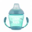 Canpol babies Nevylévací hrníček se silikonovým ventilem 230 ml SEA LIFE