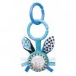 Canpol babies Šustící plyšová hračka s chrastítkem ZIG ZAG králík modrá