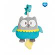 Canpol babies Plyšová hrací skříňka PASTEL FRIENDS tyrkysová sova
