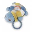 Canpol babies Plyšová svítící a hrající želva SEA TURTLE modrá