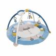 Canpol babies Hrací deka s hrazdičkou 0+ PASTEL FRIENDS modrá
