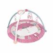 Canpol babies Hrací deka s hrazdičkou 0+ PASTEL FRIENDS růžová