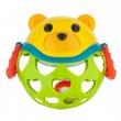 Canpol babies Interaktivní hračka míček s chrastítkem Zelený medvídek