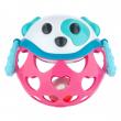 Canpol babies Interaktivní hračka míček s chrastítkem Růžový pes