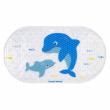 Canpol babies Protiskluzová podložka do vany LOVE SEA modrá