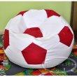 Sedací vak fotbalový míč 450L, 100 cm XXL nr.01