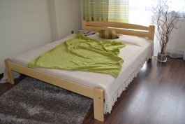 Zvětšit Postel Viki 120 x 200 cm masiv borovice + rošt