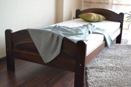 Zvětšit Postel Bella ořech 90 x 200 cm masiv borovice