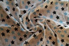 Plena bambusová 60x60 cm hvězdy modré