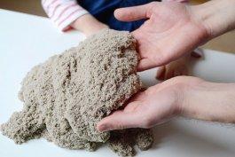 Kinetický písek jahoda - 1 kg