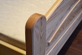 Postel Roxana 160/200 cm masiv borovice