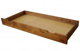 zväčšiť obrázok Zvýšený šuplík pod posteľ 200 cm dub
