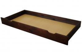 zväčšiť obrázok Zvýšený šuplík pod posteľ 200 cm orech