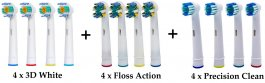 Zvětšit Náhradní hlavice na kartáček Oral-B 12 kusů
