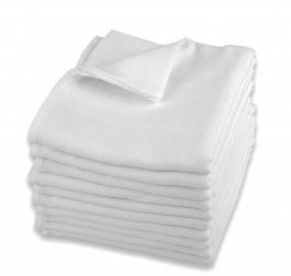 Plena bílá lux - bavlna - 140g - 10 ks