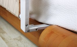 Zábrana na postel Eva biege