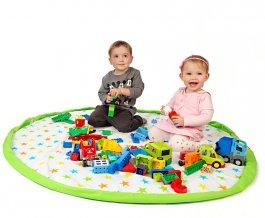Hrací deka - vak na hračky 130 cm -16 vzorů