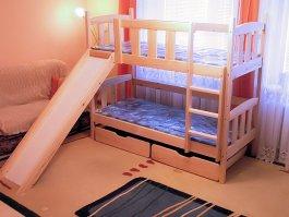 Zvětšit Patrová postel Iza skluz 80x200 cm cm + matrace