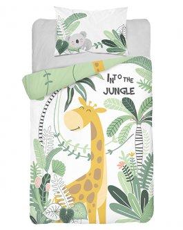 Povlečení lux bambus-bavlna žirafka