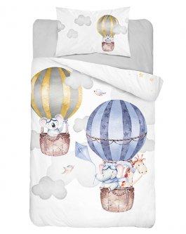 Povlečení lux bambus-bavlna balóny
