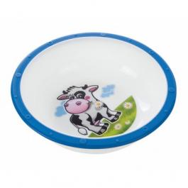 Canpol babies Plastová miska s protiskluzovým dnem kravička 4/416