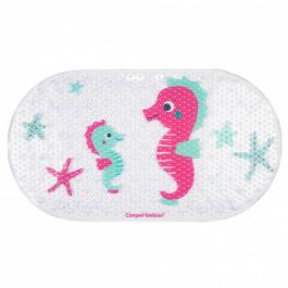 Canpol babies Protiskluzová podložka do vany LOVE SEA růžová