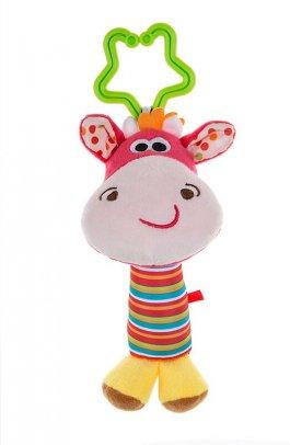 Plyšová hračka s chrastítkem - jelen