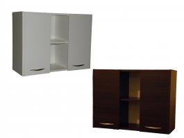 Koupelnová skříňka závěsná - Aga 2F 80 cm - výstavní kus bílá