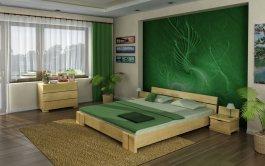 Zvětšit Postel Iveta 160/200 cm masiv borovice