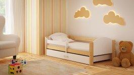 Dětská postel Bořek 180/90 cm se šuplíkem bílý