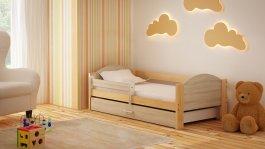 Dětská postel Bořek 180/90 cm se šuplíkem sonoma