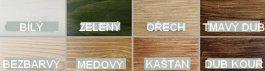 Postel Acello 90/200 masiv borovice voskovaný