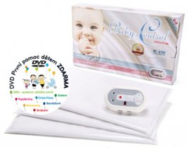 Monitor Baby control digital 230 + 3 senzorové podložky