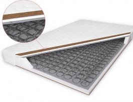 Zvětšit Bonelová matrace s kokosem Bilbao 140x200 cm
