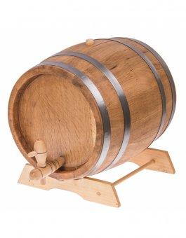 Zvětšit Dubový soudek na alkohol 10L