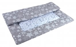 Hrací deka - šedá 110x110 cm nr.1