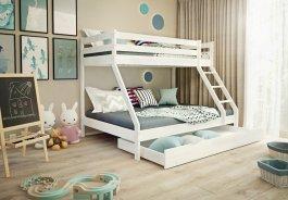 Šuplík PŘISTÝLKA pod postel 190/90 cm bílá