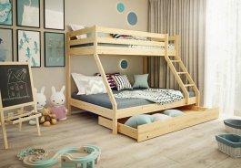 Šuplík PŘISTÝLKA pod postel 190/90 cm borovice