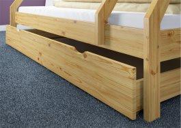 Patrová postel Denisek  + rošty + matrace + šuplík