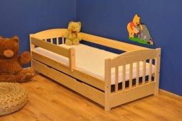 Dětská postel Edík 200x80 cm + matrace + zásuvka