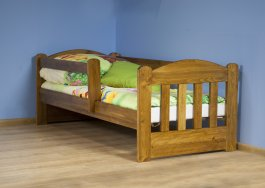 Dětská postel 160x70 cm Olinka dub + matrace