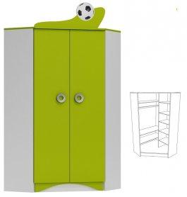 Rohová skříň N28 - Fotbal